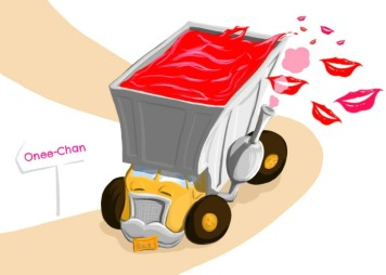 Camion-bisous-Onee-Chan