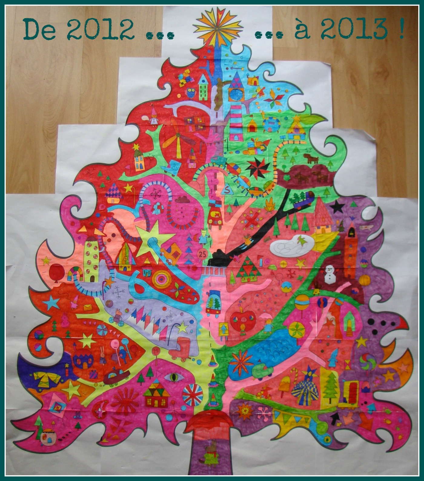 Coloriage xxl blogosth - Forme de sapin a imprimer ...