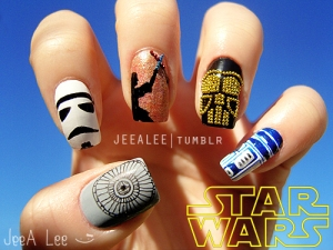 Nail-Art-Star-Wars