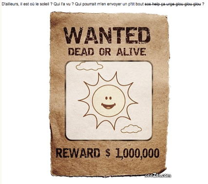 Wanted-Soleil