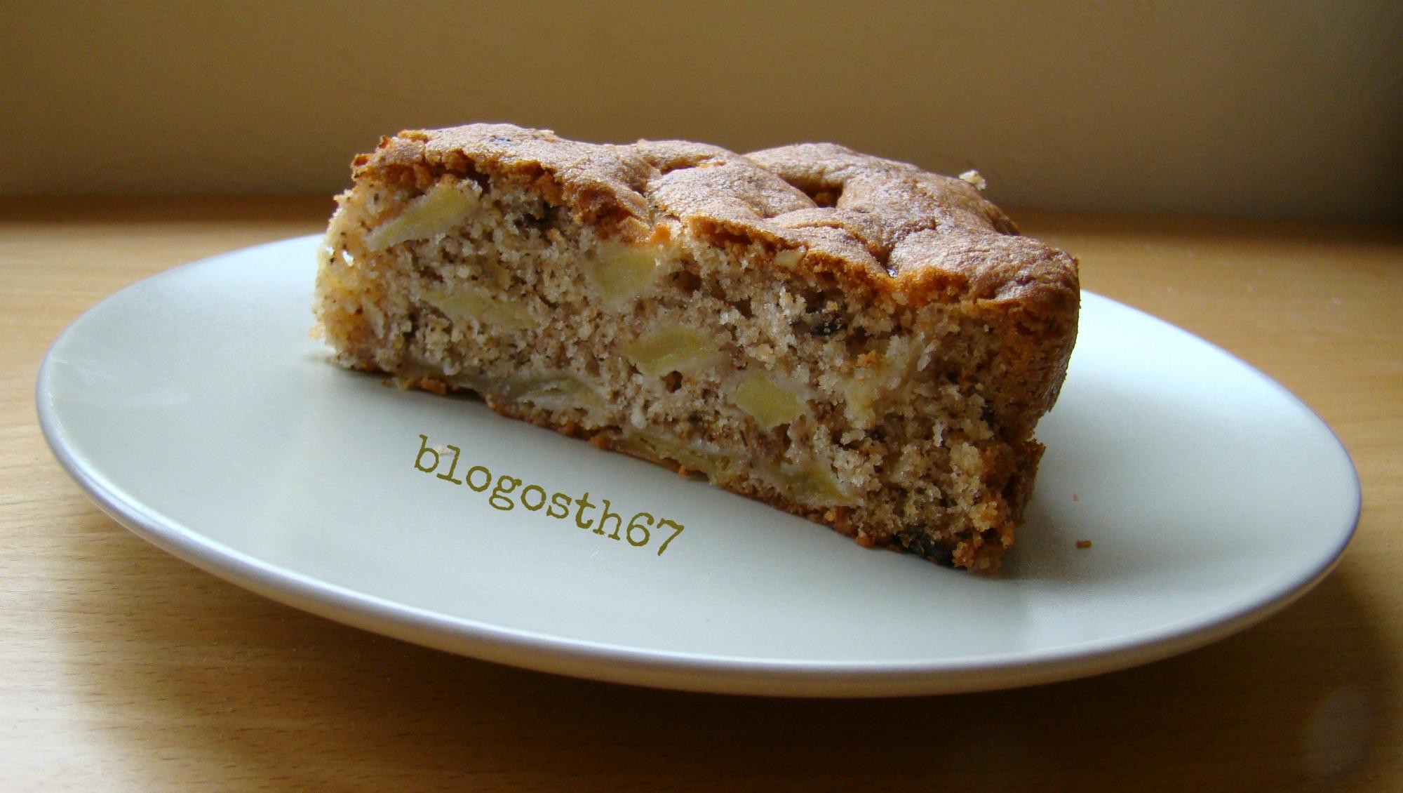 Cake Au Pomme Et Noix