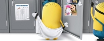 Minion_douche_serviette
