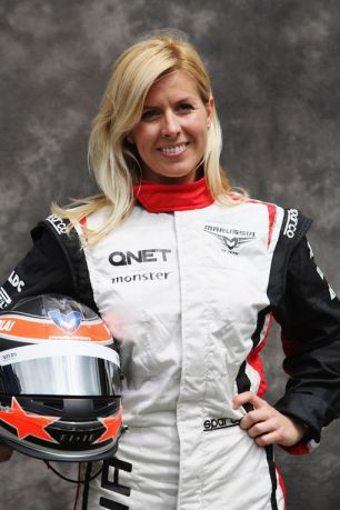 Marussia-test-driver-Maria-de-Villota-of-Spain-attends-the-drivers-portrait-session-1131196