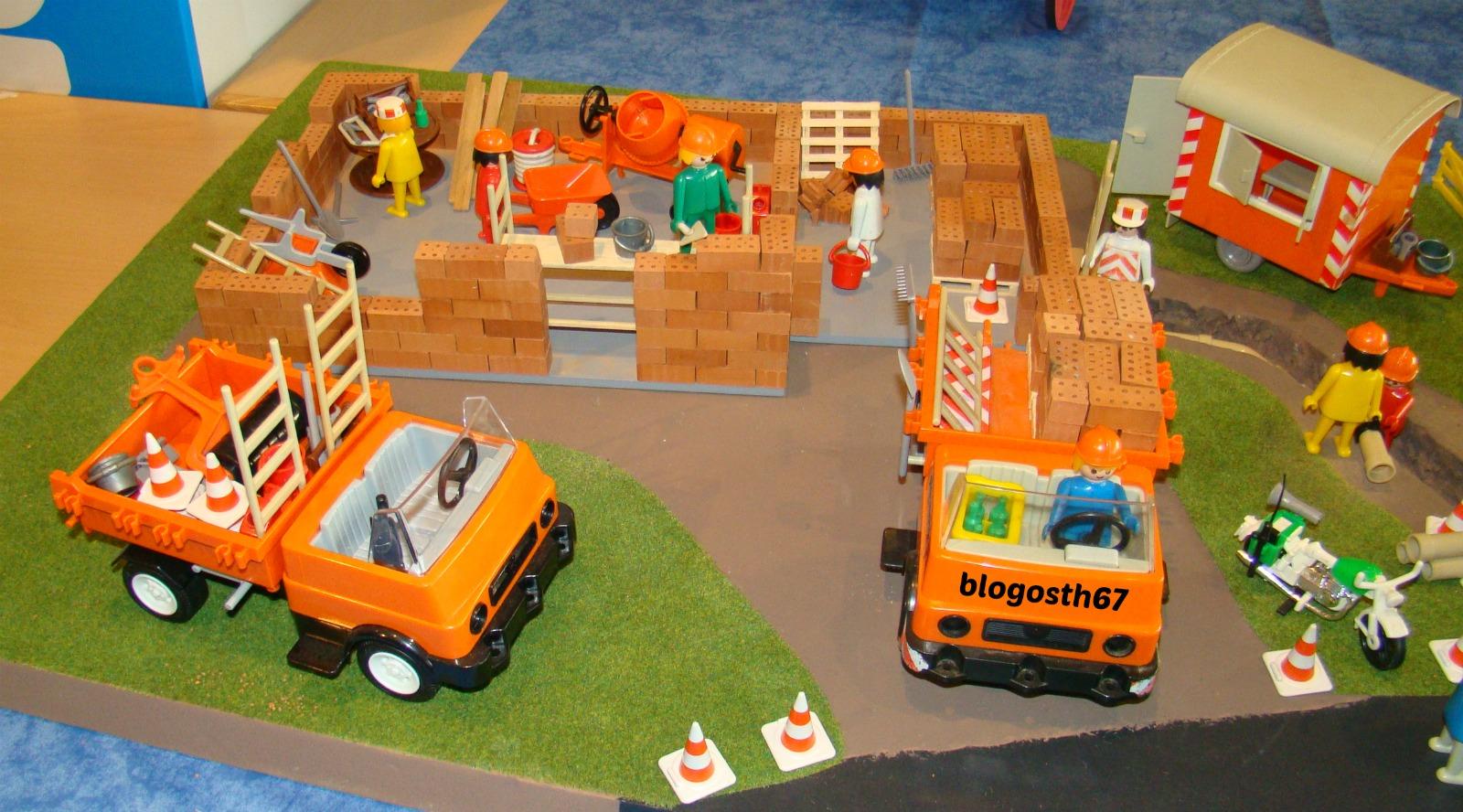 Playmothon 2013 blogosth - Playmobil camion chantier ...