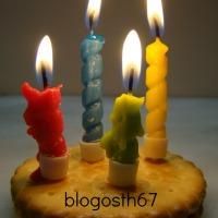 Blog'anniversaire - 4 bougies !