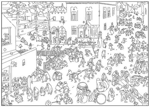 A La Maniere De Pieter Bruegel Blogosth