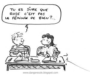 rose+bleu