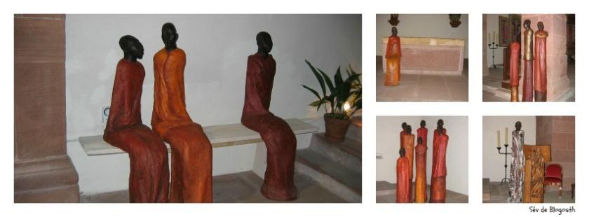 Statues Murbach